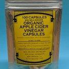Apple Cider Vinegar 100 Capsules   RSU
