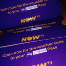 Now TV 1 Month Cinema Movies Pass Nowtv -  Email Delivery