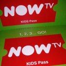 Now TV 5 Months Kids Pass Nowtv