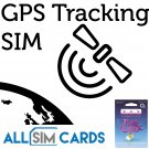 2G Sim Card for GPS Tracking Device Tracker GSM Car Pet Child Personal O2
