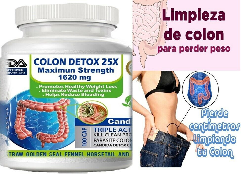 Colon cleanser combate estreñimiento, mala digestion limpieza del colon kit fast