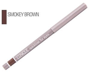 3X CLINIQUE QUICKLINER FOR EYES  02 SMOKY BROWN NEW