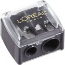5X L'Oreal Paris Dual Eye/Lipliner Sharpener with Cover New
