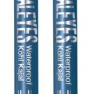 2X RIMMEL LONDON ScandalEyes Waterproof Kohl Kajal Eye Liner TURQUOISE # 007 NEW