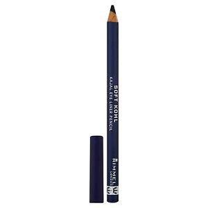 6X RIMMEL LONDON Soft Kohl Kajal Eye Liner Pencil - Denim Blue New Sealed