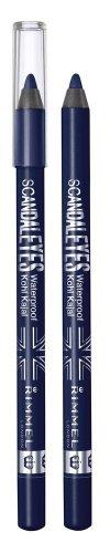 2X RIMMEL LONDON ScandalEyes Waterproof Kohl Kajal Eye Liner DEEP BLUE 006 NEW