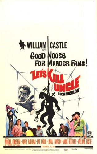 Let's Kill Uncle 1966 rare William Castle
