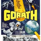 Gorath 1962 both original Japanese & English versions