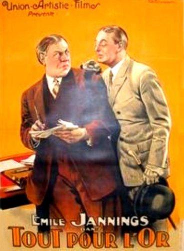 Alles für Geld aka All For Money aka Fortune's Fool  1923 Emil Jannings