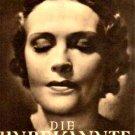 Die Unbekannte aka The Unknown 1936