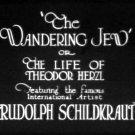 The Wandering Jew aka Theodor Herzl, der Bannerträger des jüdischen Volkes 1921