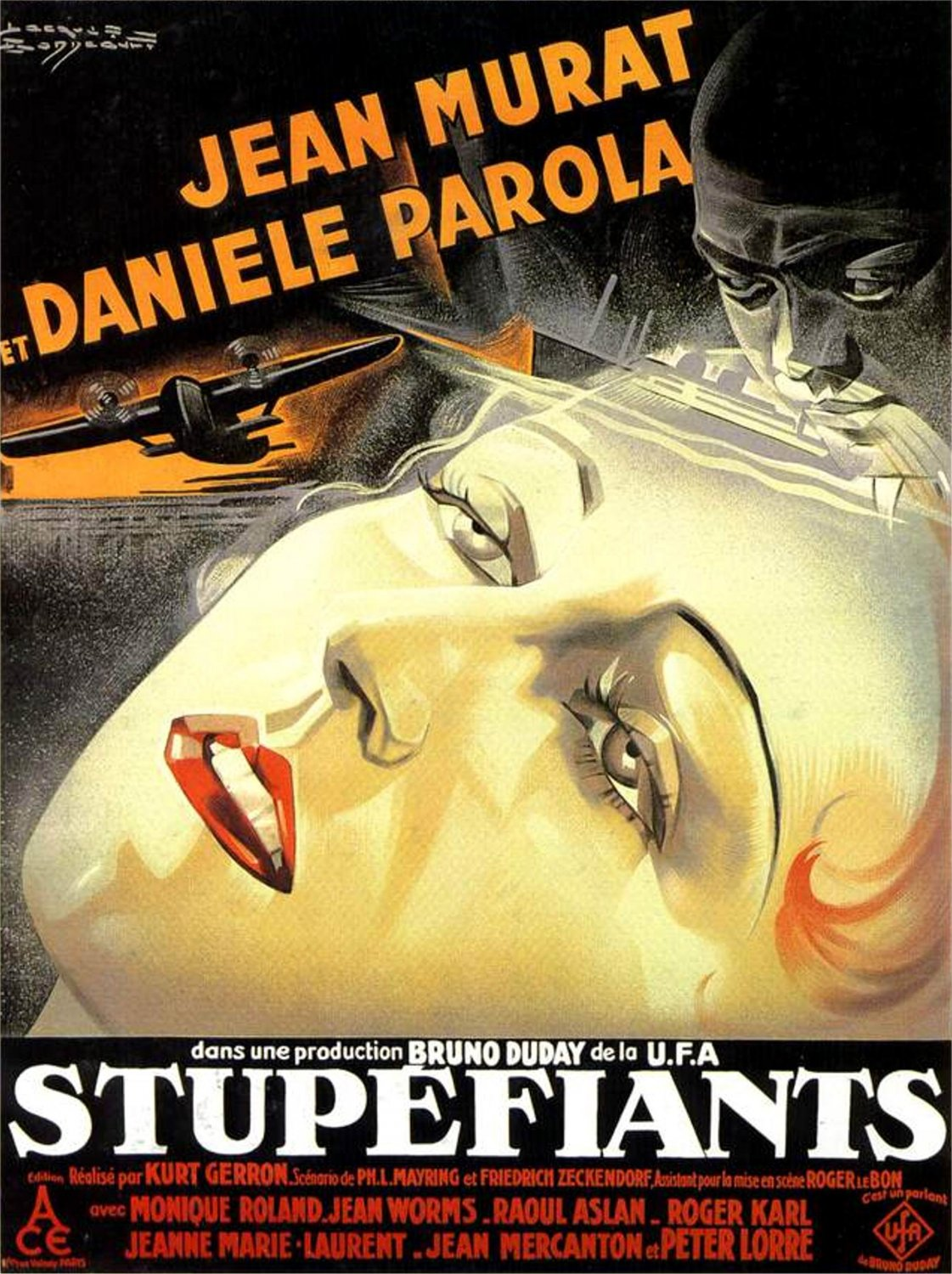 Stupefiants 1932 Peter Lorre French version