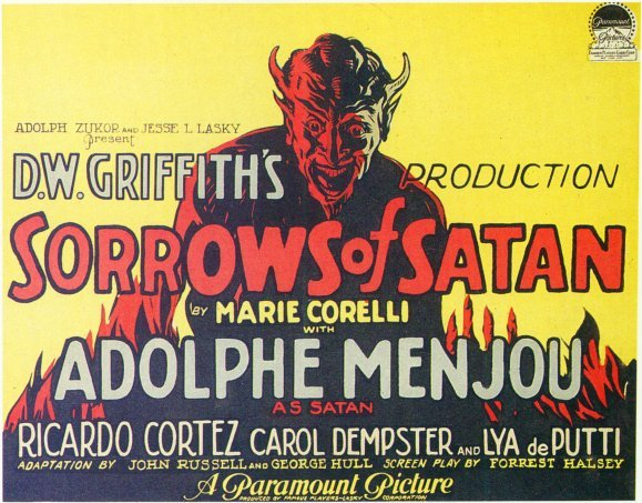 Sorrows of Satan 1926