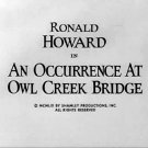 Occurrence at Owl Creek Bridge 3 different versions