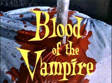 Blood of the Vampire UNCUT 1958. Barbara Shelley, Donald Wolfit