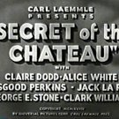 Secret of the Chateau 1934