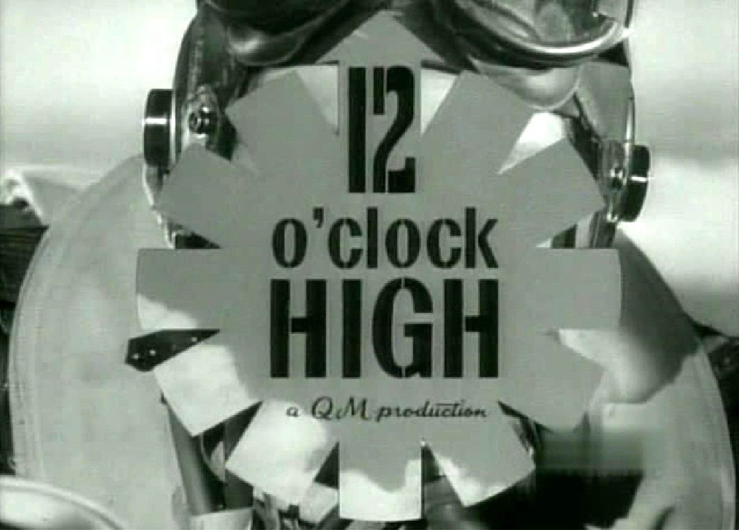 12 O'CLOCK HIGH COMPLETE ALL 78 VERY NICE QUALITY
