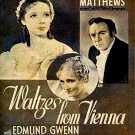 Waltzes from Vienna 1934 Alfred Hitchcock EXCELLENT QUALITY PRINT