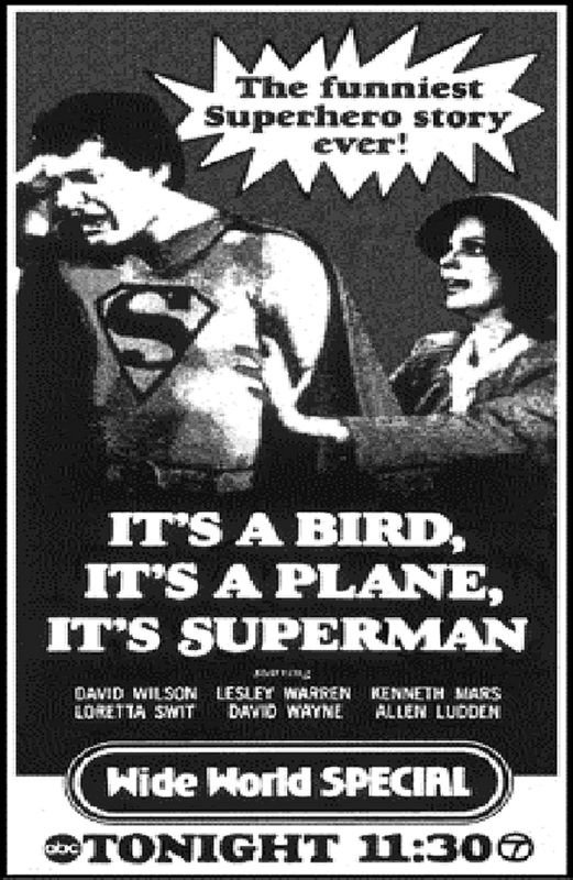 Superman the Musical 1975