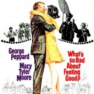 What's So Bad About Feeling Good 1968 WS George Peppard & Mary Tyler Moore