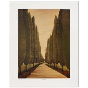 "Steven Lavaggi - ""Tuscany Lane"" Limited Edition Lithograph"