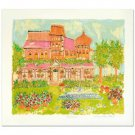 """My House"" Limited Edition Serigraph by Susan Pear Meise"