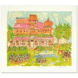 """""""My House"""" Limited Edition Serigraph by Susan Pear Meise"""