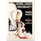 """Casino De Paris Mistenquette"" Hand Pulled Lithograph by the RE Society"