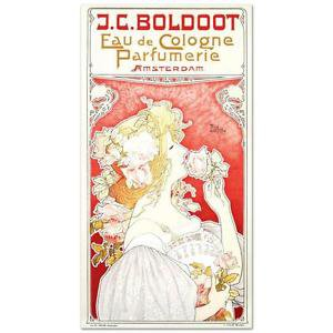 """""""J.C. Boldoot"""" Hand Pulled Lithograph by the RE Society by Privat Livemont."""