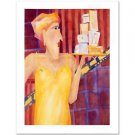 "La Collectionneuse Des Boites"" LTD Edition Serigraph by Renee Steger Simpson NEW"
