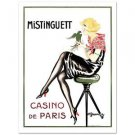 """Mistinguett-Parrot"" Hand Pulled Lithograph by the RE Society Orig. by Gesmar"