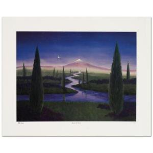 "Steven Lavaggi - ""Beside Still Waters"" Limited Edition Lithograph, Signed"