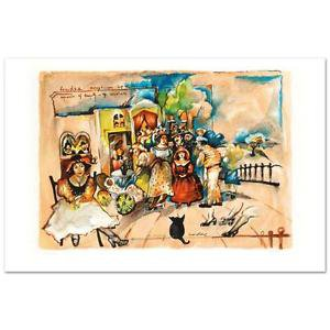 Gretty Rubinstein - Happy Sundae Limited Edition Lithograph