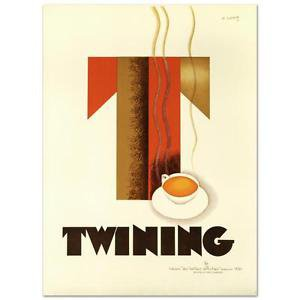 """Twining"" Hand Pulled Lithograph (38"" x 52.5"") by the RE Society"