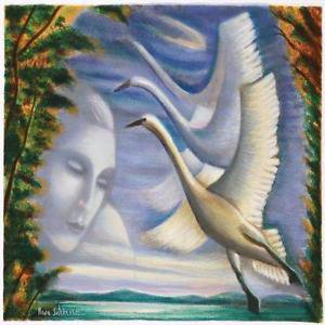 """Fly Away"""" Limited Edition Serigraph by Rina Sutzkever hand signed w/coa"""