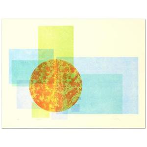 """Robert Shirk - """"Sunrise"""" Limited Edition Lithograph hand signed"""