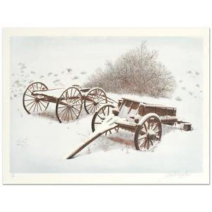 """Glen F. Banse - """"Old Friends"""" Limited Edition Lithograph"""