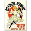 Quinquina Dubonnet Hand Pulled Lithograph Poster Jules Cheret  NEW W/COA