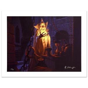 "Brothers Hildebrandt! ""Saruman And The Palantir"" Ltd Ed Giclee on Canvas"