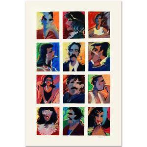 """James Talmadge! """"Hollywood Tough Guys and Their Women"""" Ltd Ed Serigraph, w/COA"""