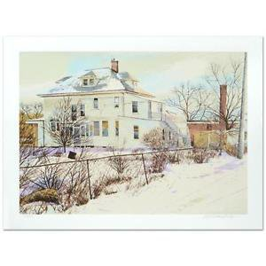 """William Nelson - """"Back of the General Store"""" Limited Edition Serigraph"""