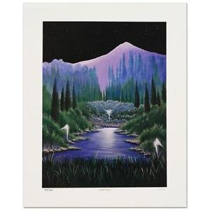 "Steven Lavaggi! ""Twilight Visitation"" Limited Edition Lithograph, Hand Signed"