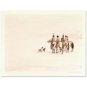 "William Nelson - ""Search for a New Land"" Limited Edition Lithograph,Signed"