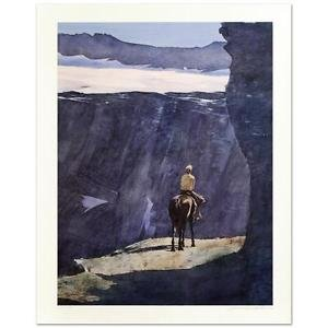 """William Nelson - """"Blue Canyon"""" Limited Edition Serigraph, Signed, Numbered"""