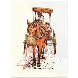 "William Nelson - ""Montreal Horse & Buggy"" Limited Edition Serigraph"