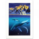 "William Schimmel! ""The Humpback's World"" Ltd Ed Serigraph , Signed w/COA"