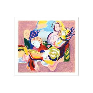 """David Bovetez - """"Fiesta"""" Limited Edition Lithograph, Numbered and Hand Signed"""