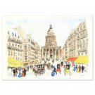 "Urbain Huchet  ""Pantheon"" Limited Edition Lithograph, Numbered and Hand Signed"