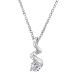 Ice Twist Pendant