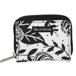 "Bella Taylor Card Case ""Rose Pop"" Wallet 4""L x 3"" W  x 1.25"" NWT"